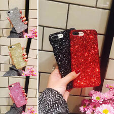 Luxury Bling Sparkle Glitter Diamond Hard PC Case Cover For iPhone  6s 7 8 Plus