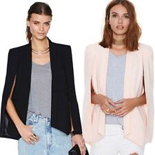 Candy Color Long Sleeve V-Neck Zippers Outerwear Blazer For Women