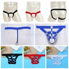 Sexy Mens Lingerie G-string Bikini T-back Thong Underwear Crotchless Underpants