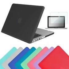 New Rubberized Hard Shell Case Cover Film For Macbook Air 11 13 Pro 13 15 Retina