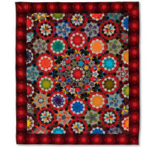 The Can Can Quilt - Millefiori Quilts 3 by Willyne Hammerstein