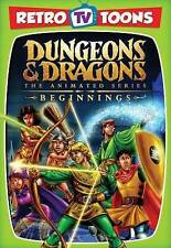 Dungeons  Dragons: The Animated Series - Beginnings (DVD, 2015) RETRO TV TOONS