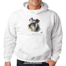 Schnauzer Hoodie Schnauzer Puppy Pet Rescue Dog Owner Men's Sweatshirt