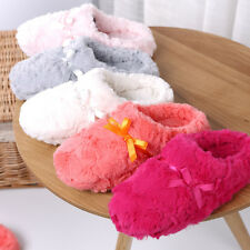 2017 Women Casual Indoor Soft Slippers Faux Fur Floral Winter Warm Slipper Shoes