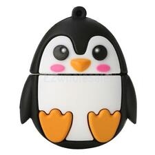 Novelty Cartoon Penguin Animal Model USB 2.0 Stick Flash Drive Memory Drive