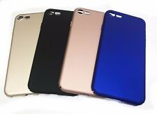 Apple iPhone 7 ROSE GOLD BLACK BLUE GOLD Ultra Thin  Hard Plastic 8 mm Case