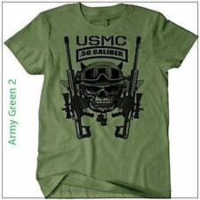 US Marines Infantry Assault man T shirt Special forces Army Green