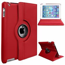Leather 360 Degree Rotating Smart Stand Case Cover For APPLE iPad Mini 2,3