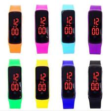 Girls / Boys LED Silicone Touch Screen Ultra Thin Jelly Digital Sports Watch ZH