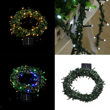 Solar LED String Light Garland Fairy Light Garden Patio Christmas Tree Decor DIY