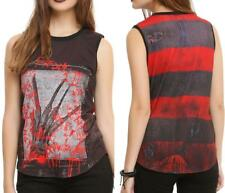 S M L XL NIGHTMARE on ELM STREET~punk/goth~FREDDY KRUEGER~horror movie~TANK TOP