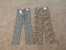 GIRLS 8 U PK GYMBOREE TRES FABULOUS OR READY DRESS GO LEOPARD PANTS NWT