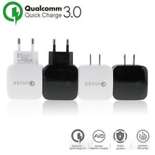 QC 3.0 Quick Fast Charging Travel Home AC To Phone USB Wall Charger EU/US Plug