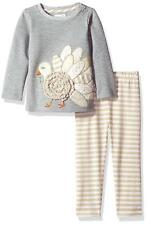 Baby Girls Thanksgiving Outfit Boutique Turkey Tunic Leggings Mud Pie Baby