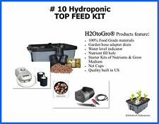 Hydroponic Top Feed DWC BUBBLER Complete Grow system # 10 by H2OtoGro
