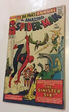 Amazing Spider-Man Annual #1 -1st Sinister Six! Key Silver Age 1964 Marvel Comic