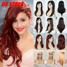 12 Colors Hair Wigs Halloween Cosplay Full Wigs Costume Party Hair Full Wigs Nhy