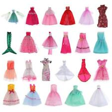 Evening Gown Clothes for Barbie Doll Dress Skirt Outfits Shoes Cheongsam Accs