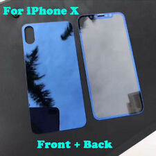 Front & Back 3D Tempered Glass Film Screen Protector Cover Guard For iPhone X