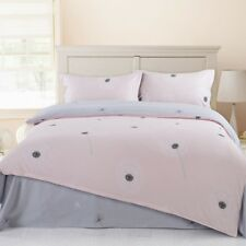 Simple sexual apathy style 4PC bed set Queen Size Cotton