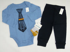 NWT Boys Baby Gap Size 18 24 Months Blue Tie Mom Bodysuit & Navy Pants Socks