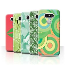 STUFF4 Back Case/Cover/Skin for LG G5/H850/H820/H830/Green Fashion