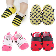 Soft Sole Cotton Baby Shoes Boy Girl Infant Toddler Kid Children Crib 0-1 Y