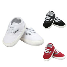 Infant Sneakers Baby Boys Girls Non Slip Soft Sole Crib Canvas Shoes 0-18M