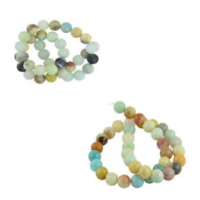 10mm Natural Charm Vintage Gemstone Colorful DIY Loose Beads 15'' Strand Jewelry