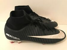 Nike Mercurial Victory Dynamic Fit FG Football Boots Mens Black Size UK 12