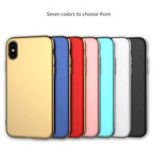 For iPhone X Case 3 in 1 Shockproof Hybrid Ultra Slim PC Hard Plating Back Cover