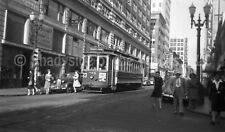 Portland Traction Electric Streetcar #594 Original Negative Tram