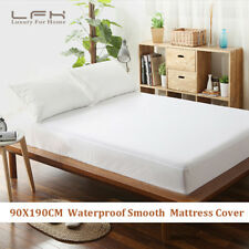 Hypoallergenic Mattress Pad 100 Cotton Waterproof Protector Bed Cover Full Size