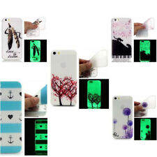 Night Luminous Silicone Glow in the Dark Soft Flexible Case for iPhone 7/8 Plus