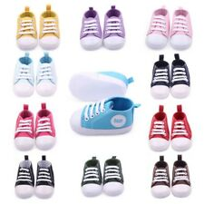 Infant Toddler Baby Boy Girl Soft Sole Crib Shoes Sneaker Newborn to 0-12Months