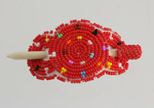 Navajo Indian Native American Hand Beaded Child Hair Pin Barrette Authentic Baby