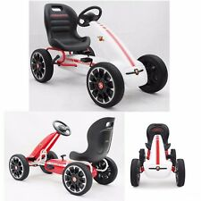 New Children Kids Licensed Abarth Adjustable Seat Ride on Pedal Go Kart Push Car