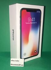 NEW Apple iPhone X 256GB - Silver - White - Verizon Unlocked AT&T T-Mobile - NEW