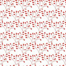 Riley Blake - Mod Studio - Red Flower fabric by Riley Blake Designs / Quilting