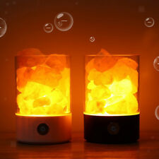 Rock Salt Lamps Himalayan-salt Ionizing Lamp Touch Dimmable Lamp USB Night Light