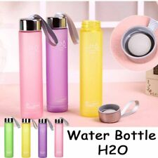 280ML Cycling Portable Cup Bottle Plastic Water Cups Sports Scrub Fashion Travel