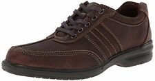 New Mens Clarks 26103266 Sherwin Way Casual Oxfords - Dark Brown (A19)