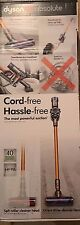 New Dyson V8 Absolute Cordless Vacuum NEWEST MODEL Cord Free Powerful Suction