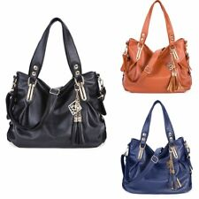 Women's Bag Shoulder PU Leather Handbag Tote Ladies Work Casual Bag Fashion New