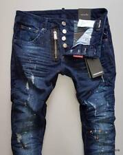 Dsquared2® Jeans ZIP Blue FW18 Collection NEW