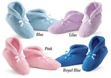 Ultra Plush Chenille Slippers Lilac, Royal Blue