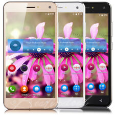 New 5 Inch Mobile Phone Android Quad Core Dual SIM GSM 3G Unlocked Smartphone