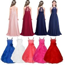 Kids Flower Girl Princess Dress Party Wedding Bridesmaid Pageant Gown Dresses