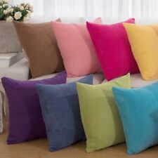 Square Corn Kernels Corduroy Cushion Cover Throw Pillow Case Sofa Home Decor