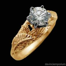14k Yellow Gold Nenya Galadriel's Elven Ring of Power Lord of the Rings